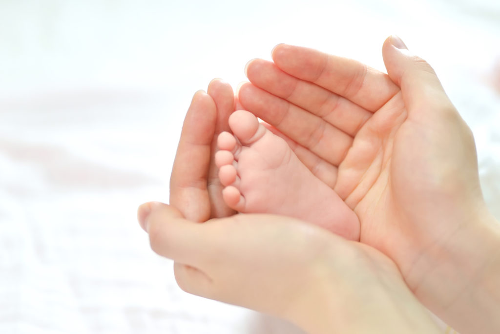 Babymassage zum Thema Erkältung und Fieber